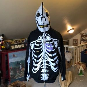 Skeleton hoody with mask roots & equipment large